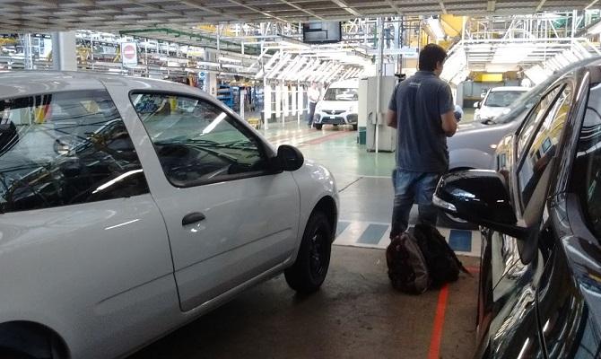 Trabajo realizado a Renault Argentina en Córdoba, Argentina