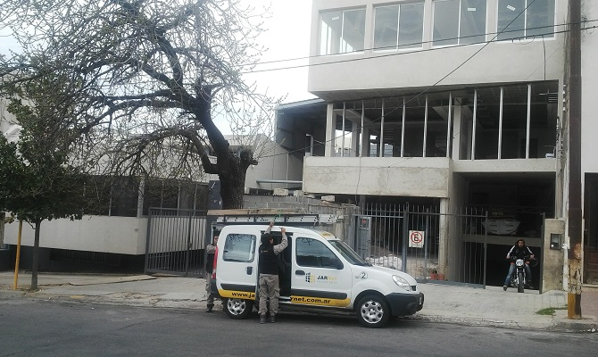 Trabajo realizado a APSE en Córdoba, Argentina