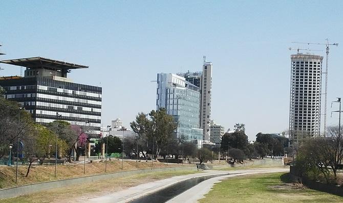 Trabajo realizado a Banco de Galicia y Buenos Aires en Córdoba, Argentina