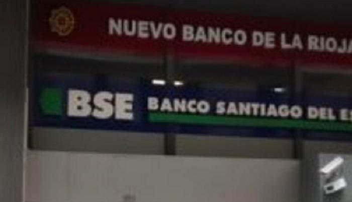 Trabajo realizado a Banco Santiago del Estero en Capital Federal, Argentina