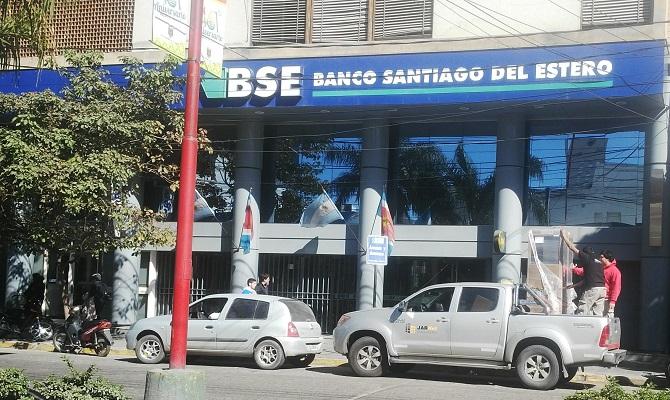 Trabajo realizado a Banco Santiago del Estero en Santiago del Estero, Argentina