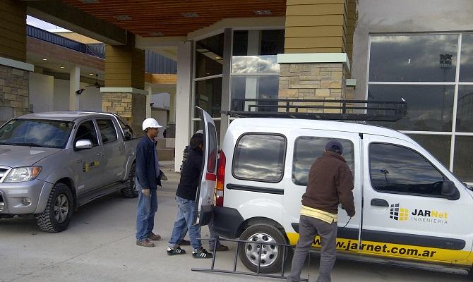 Trabajo realizado a Banco Santiago del Estero en Salta, Argentina