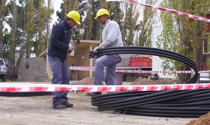 Trabajo realizado a Comisión Nacional de Energía Atómica en Chubut, Argentina
