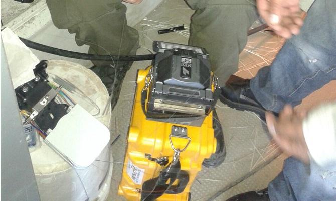 Trabajo Cableado estructurado realizado en AR-X, Argentina