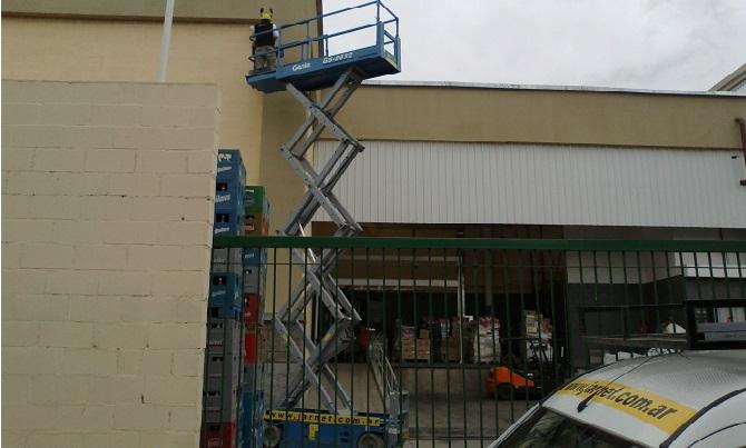 Trabajo realizado a Cencosud S.A en Salta, Argentina